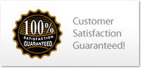 100% Customer Satisfaction Guaranteed -